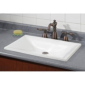 Kohler K 5400 0 Iron Plains Dual Mount Bathroom Sink