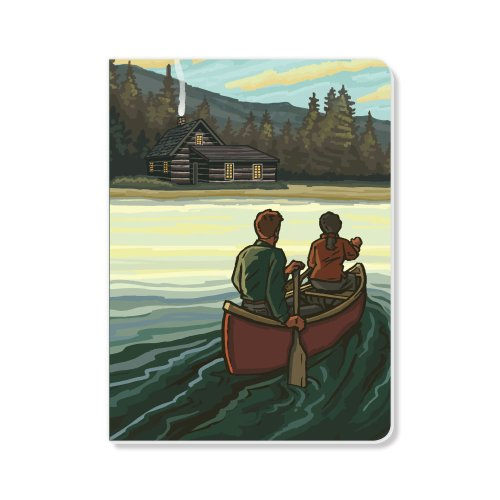 ECOeverywhere On the Lake Sketchbook, 160 Pages, 5.625 x 7.625 Inches (sk11730) by ECOeverywhere