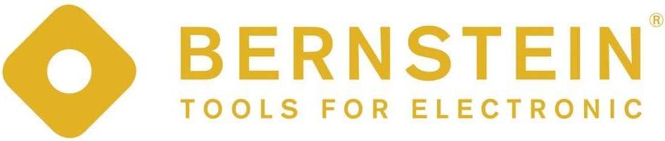 Bernstein 5-107-9 Pince /à /épiler en T/éflon avec pointes courb/ées Longueur 150 mm