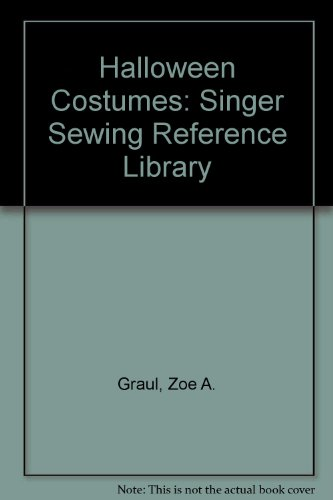 Halloween Costumes: Singer Sewing Reference -