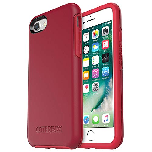 OtterBox Symmetry Series Case for iPhone 8 & iPhone 7 ONLY - Bulk Packaging - Rosso Corsa (Flame RED/Race RED)