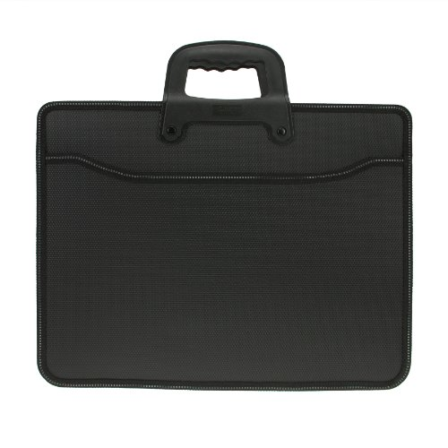 Starsource Oxford Nylon Office Business Trip File Bills Document Organizer Handbag Carring Briefcase cases Top Handle Bag Black