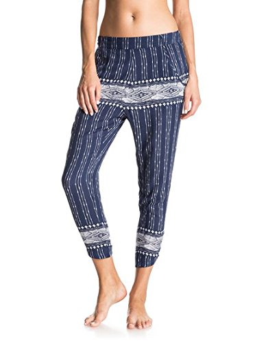 Roxy Junior's Tropic Bell Pant, Dancing on Combo Blue Print, Small