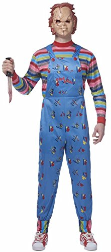 Mens Chucky Costume - ST -