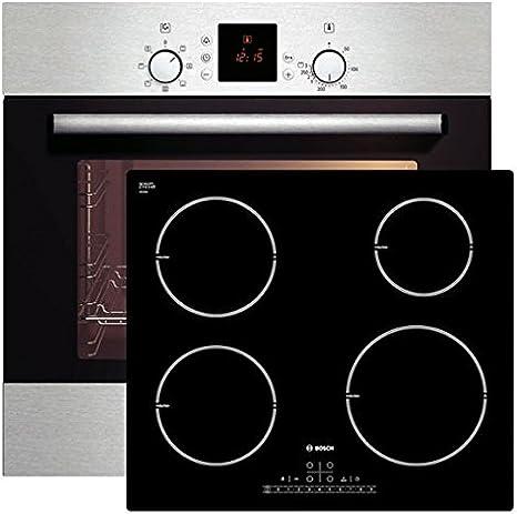 Bosch empotrable del Horno hbn231e1l + vitrocerámica placa de inducción, eficiencia energética: A: Amazon.es: Grandes electrodomésticos