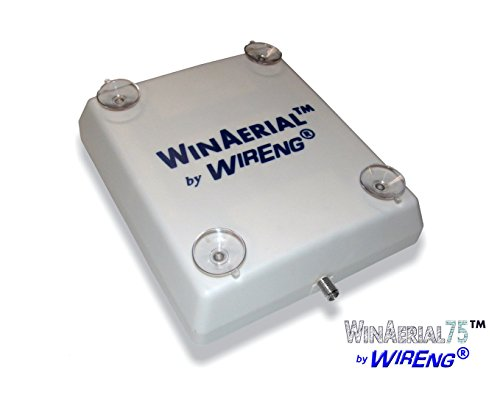 (WinAerial75TM Antenna for zBoost Wi-Ex YX560SL No-Installation On-Window (use in place of External antenna))