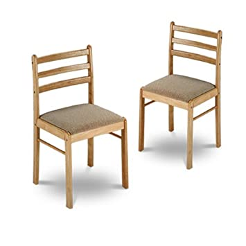 wood dining chairs with leather seats used cherry ebay new natural finish wooden cushions