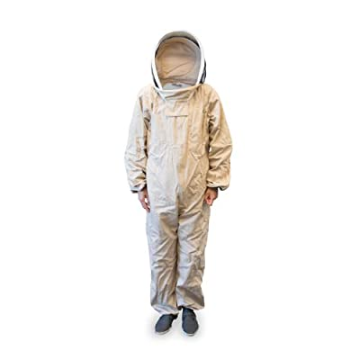 Professional Beekeeper Suit, Bee Keeper Suit with Self Supporting Veil for Beekeeping
