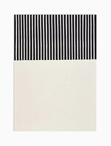 - Calvin Klein Home CK750 Nashville Area Rug, IVORY/BLACK, 5' x 7'