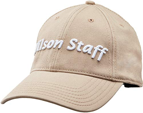 (Wilson Staff Relaxed Cap, Khaki)