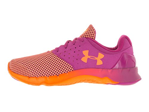 Under Armour Big Girls 'Grado Escuela UA Flow TCK Zapatillas de running Lunar Pink/Glow Orange/Glow Orange