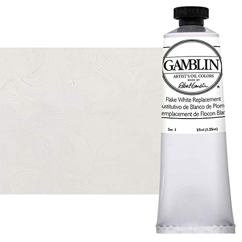 Gamblin Artist Oil 37Ml Flake White Repl ()
