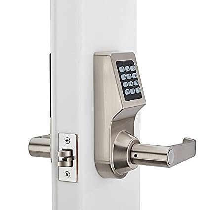 Bloqueo antirrobo de huellas dactilares para el hogar con cerradura inteligente de Xueliee, sin llave