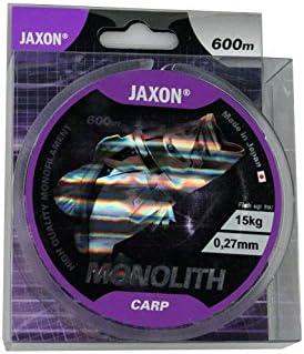 Jaxon Angelschnur Monolith CARP 0,25-0,35mm//600m Spule Monofile Karpfenschnur schnell sinkend