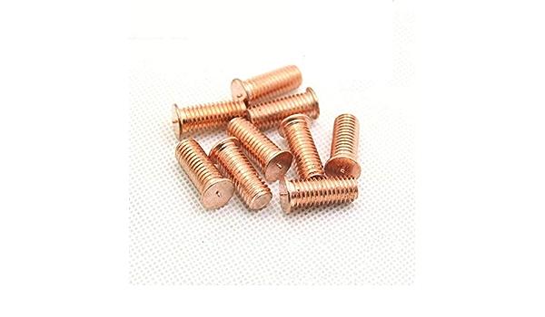 Rod iron alloy copper rod metal rod 100 nails  flat head pins jewel jewel 30mm copper rod accessory jewel
