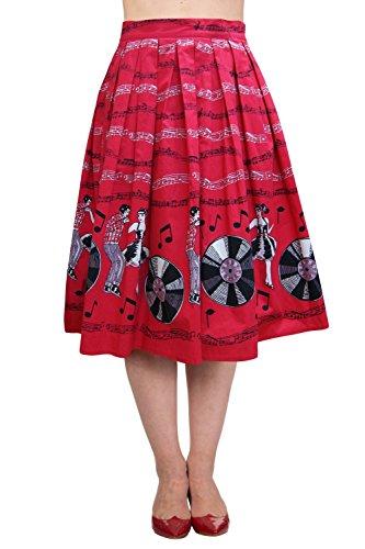 Banned-Empower-50s-Retro-Skirt