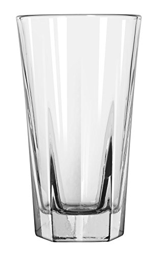 Libbey 15478 Inverness Duratuff Beverage, 10 oz, M, Clear (Pack of 36)