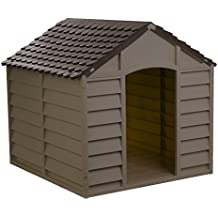 Starplast Mocha / Brown Large Dog House/Kennel