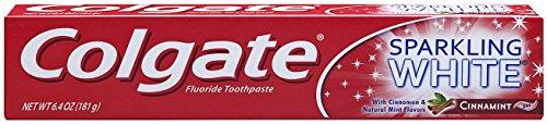 Colgate Sparkling Fluoride Toothpaste Cinnamint