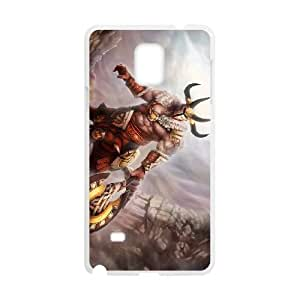 Defense Of The Ancients Dota 2 CENTAUR WARRUNNER Samsung Galaxy Note 4 Cell Phone Case White ASD3788061