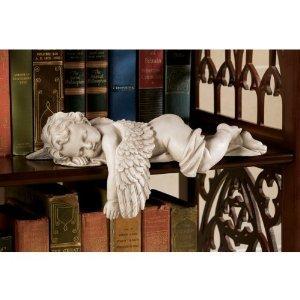 """13""""w Decorative Cherub Baby Angel Desktop Statue Sculptur..."""
