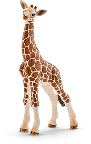 Schleich 14751 Giraffe Calf Toy Figure (Figurines Giraffe)