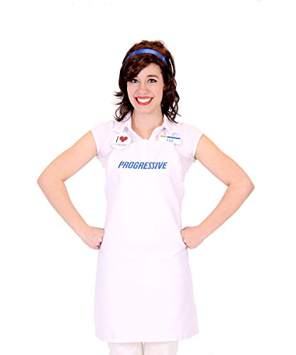 Womens Halloween Ideas (Progressive Collection Flo Insurance Girl Costume,)