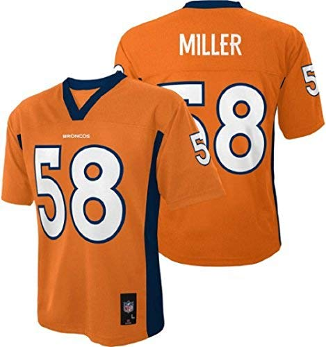 Outerstuff Von Miller Denver Broncos Youth NFL Mid Tier Jersey-M (10-12)