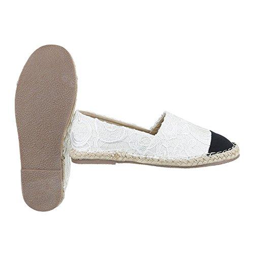 Ital-Design Women's Slippers Weiß GoE0Z