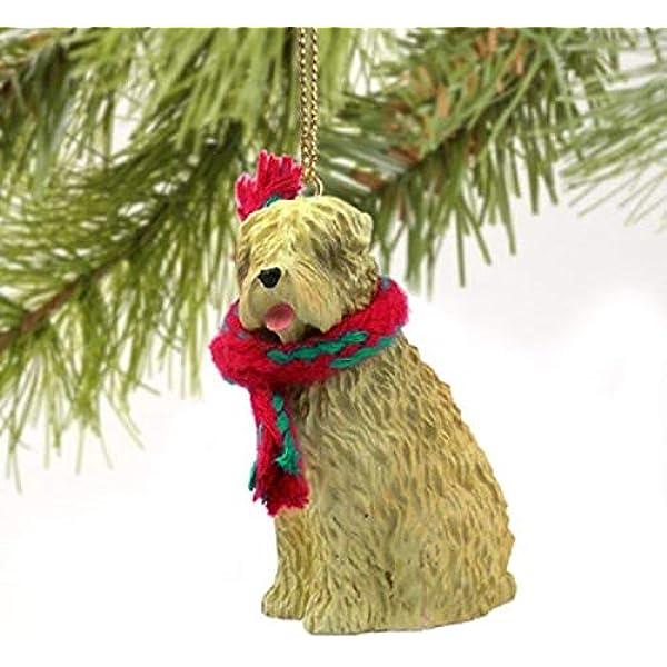 Angel Ornament Soft Coated Wheaten Terrier Dog Figurine