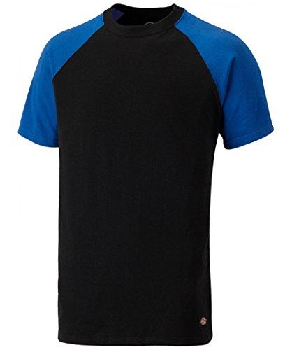 Sh2007 Royal 7 Two Noir Tone T S'adapte À Tailles Parfait Collection Everyday Couleurs Et bleu shirt 2017 Dickies La Ajustement 24 Différentes ITA1xw1q
