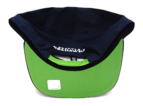 Seattle Seahawks New Era ORIGINAL FIT 2015 Draft Snapback Cap Hat Navy