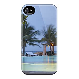 New Arrival Covers Cases With Nice Design For Iphone 6- Lovely Pool In The Evening