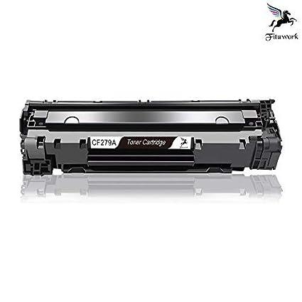 Fituwork 1Black Compatible Reemplazo para HP 79A CF279A Cartucho ...