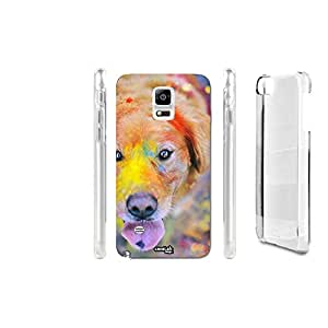 FUNDA CARCASA RAINBOW DOG PARA SAMSUNG GALAXY NOTE 4 N910F