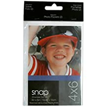 Snap 07FP988 Magnetic Photo Pockets 2-Pack, 4-Inch by 6-Inch
