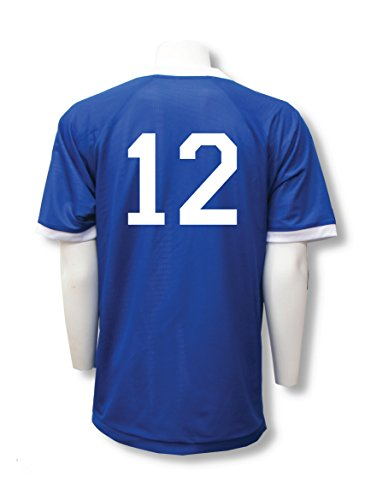 Reversible sports jersey, personalized with back numbers - size Youth M - color ()