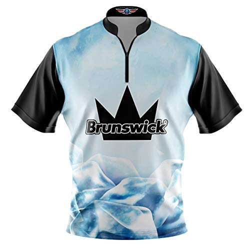 Logo Infusion Bowling Dye-Sublimated Jersey (Sash Collar) - Brunswick Style 0309 - Sizes S-3XL (2XL)