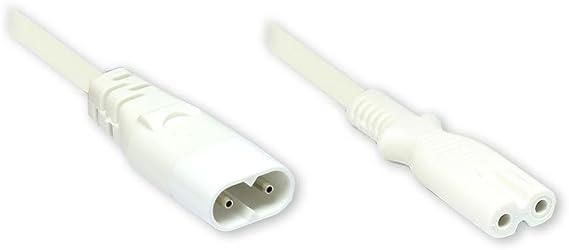Good Connections Euro Netzkabel Verlängerung 2 M Elektronik