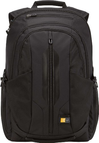 4d9583353cbc Case Logic RBP-117 17.3-Inch MacBook Pro/Laptop Backpack with iPad/Tablet  Pocket (Black)