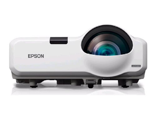 Epson PowerLite 435W WXGA 3LCD Short Throw Projector 3000 Lumens HDMI by Epson