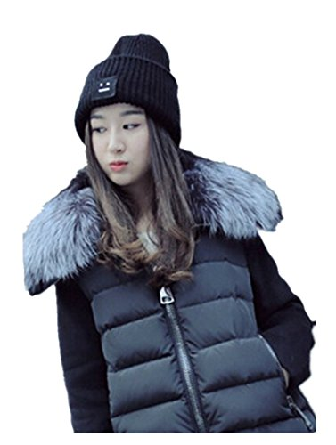 [Men / Women's Winter Knit Warm Slouchy Pompoms Cabled Beanie Hat (hat1-1)] (Pork Pie Hat For Sale)