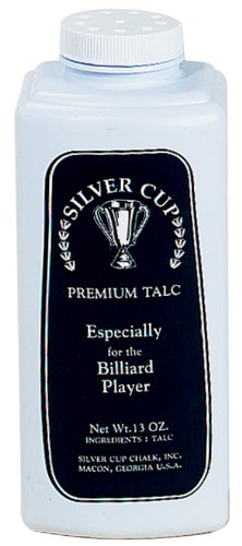(Silver Cup Billiard/Pool Premium Talc Powder, 13 Ounce Shaker Bottle )