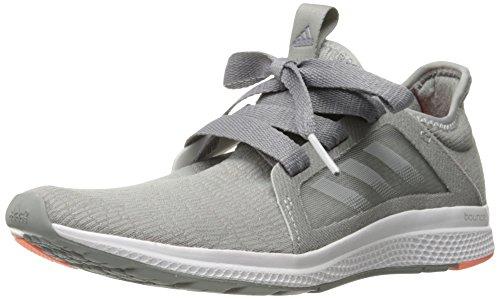 adidas Women's Edge Lux W Running Shoe Grey-crystal White-sun Glow