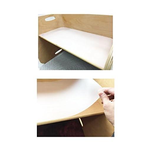 HOPPL(ホップル) ColoColo Chair&DESK コロコロデスク専用デスクマット 遊びながら学べる4パターンの下敷付き 非塩ビ素材