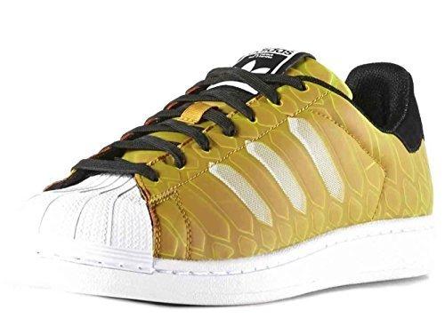 adidas Originals Men's Superstar CTMX Shoes,Yellow/White/Black ...