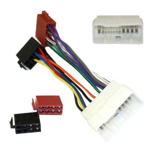 Aerzetix: Adaptateur H9 pour autoradio câble convertisseur fiche faisceau ISO compatible HYUNDAI KIA - C2003