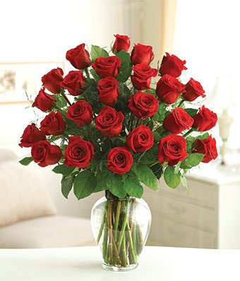 100 Fresh Red Roses | Freedom 50cm by FarmDirect