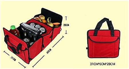 /funci/ón plegable para viaje vacaciones Camping medifier multifunci/ón Oxford tela plegable coche carga caso de almacenamiento cajas de almacenamiento/