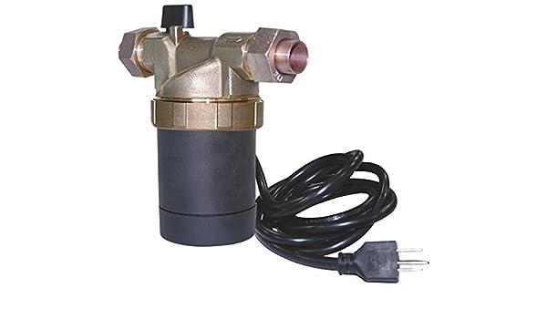 Hot Water Circulator Pump, 1/150 HP - Portable Power Water ...